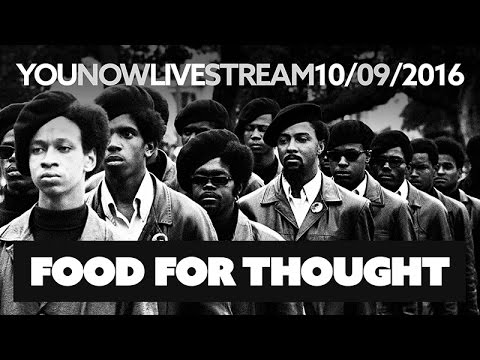 Black Panther Party Comes to Alt Space - YouNow 10/09/2016