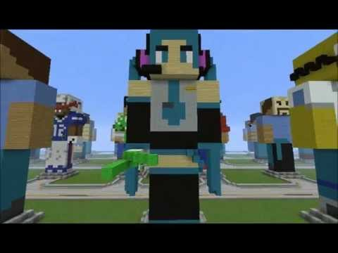 Hatsune Miku In You Are Minecraft