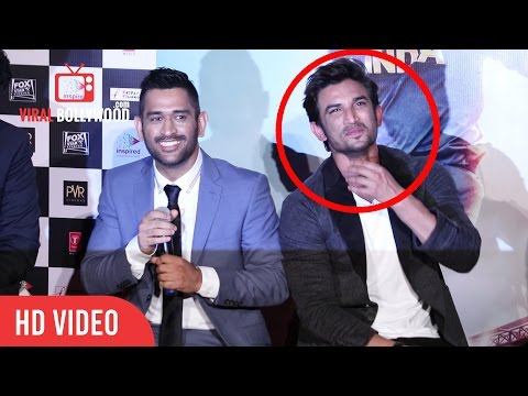 Thumbnail: M.S. Dhoni Trolls Sushant Singh Rajput | Very Funny | M.S. Dhoni: The Untold Story Trailer Launch