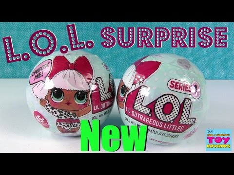 L.O.L. Surprise Ball Baby Doll 7 Layers Of Fun Color Change Cries Wets   PSToyReviews