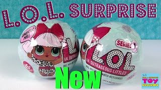 L.O.L. Surprise Ball Baby Doll 7 Layers Of Fun Color Change Cries Wets | PSToyReviews