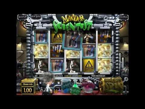 MADDER SCIENTIST +BIG WIN! +BONUS GAMES! online free slot SLOTSCOCKTAIL betsoft