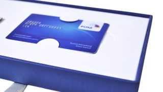 видео Упаковка для банковских и подарочных карт