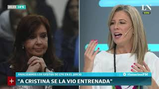 Análisis de los gestos de Cristina Kirchner en el juicio oral