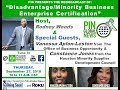 Disadvantage/ Minority Business Enterprise Certification 07-27-17