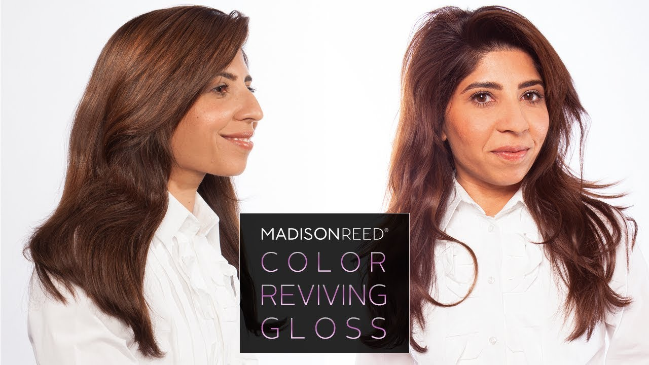 Madison Reed Color Reviving Hair Gloss Espresso Youtube