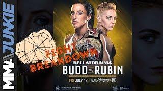 Bellator 224 fight breakdown: Julia Budd vs. Olga Rubin