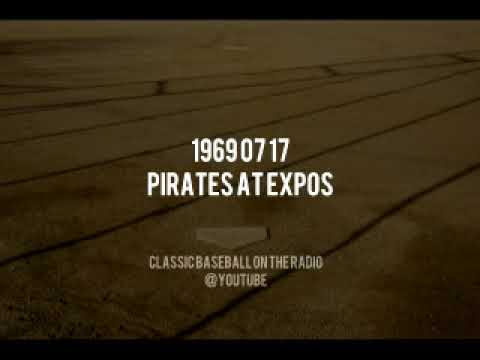 1969 07 17 Pirates at Montreal Expos Dave Van Horne Baseball Radio Broadcast