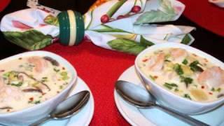Thai Spicy Coconut Shrimp Soup
