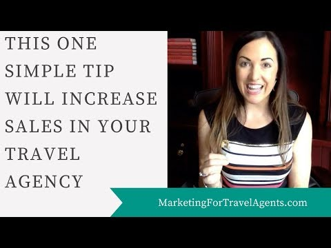 How To Increase Sales In Your Travel Agency