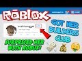 HACKING A FANS ROBLOX ACCOUNT! (Free Robux & Builders Club)