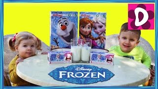Распаковка Яйца Сюрприз Холодное Сердце frozen movie