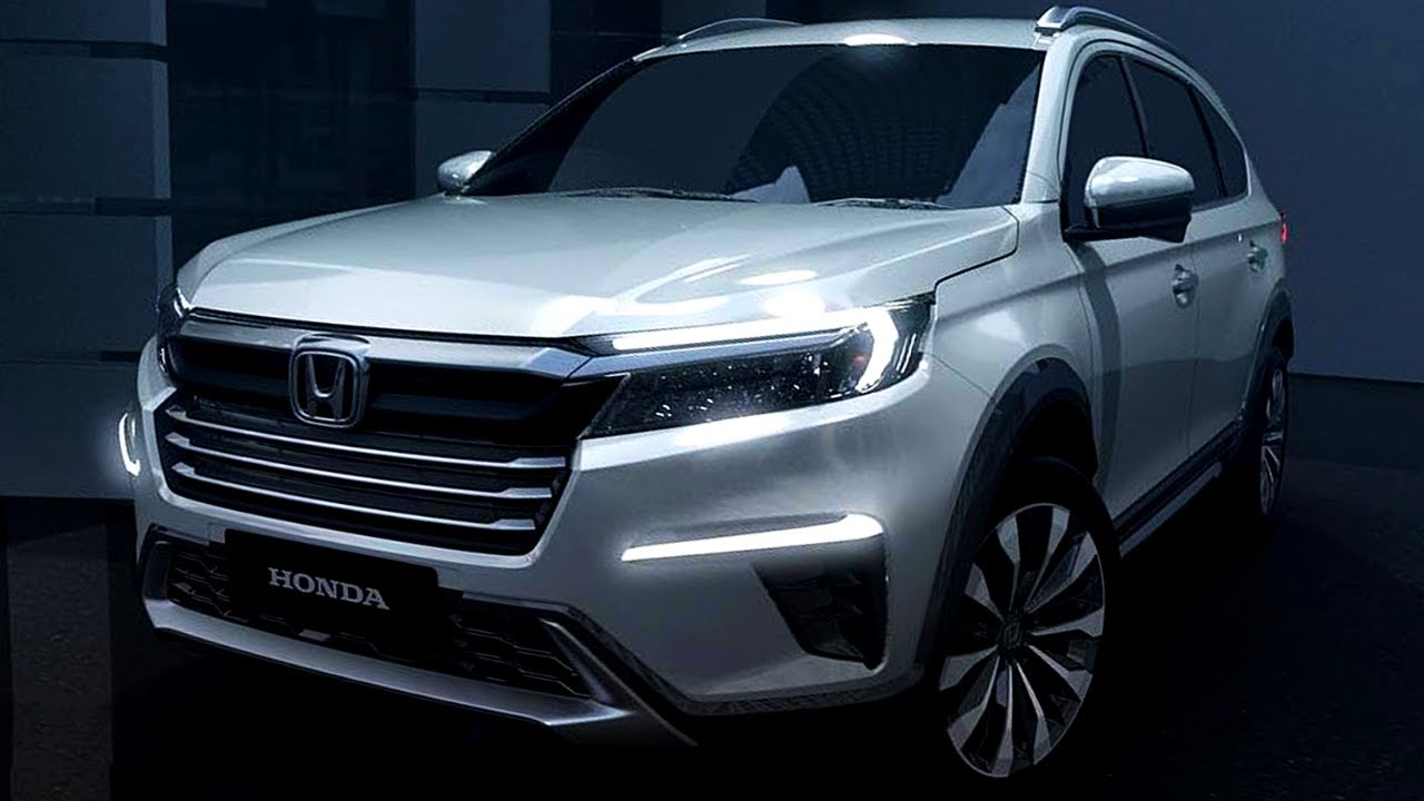 New 2022 Honda N7X Revealed - First Look! (7-Seater Family SUV) - YouTube