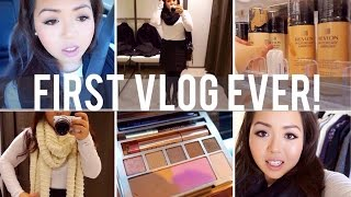 First Vlog Ever! OOTD, Christmas, Sephora, & ULTA Shopping! Thumbnail