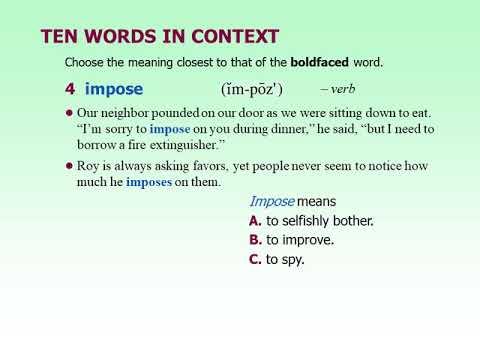 Building Vocabulary Skills - Chapter 11