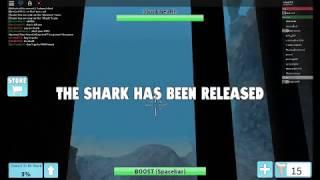Roblox Shark bite with my friend