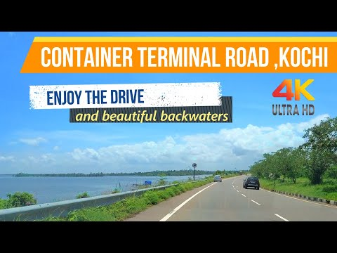 Container terminal road
