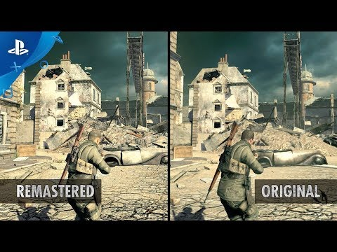 Sniper Elite V2 Remastered - Graphics Comparison Trailer | PS4
