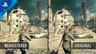 Sniper Elite V2 Remastered - Graphics Comparison Trailer | PS4