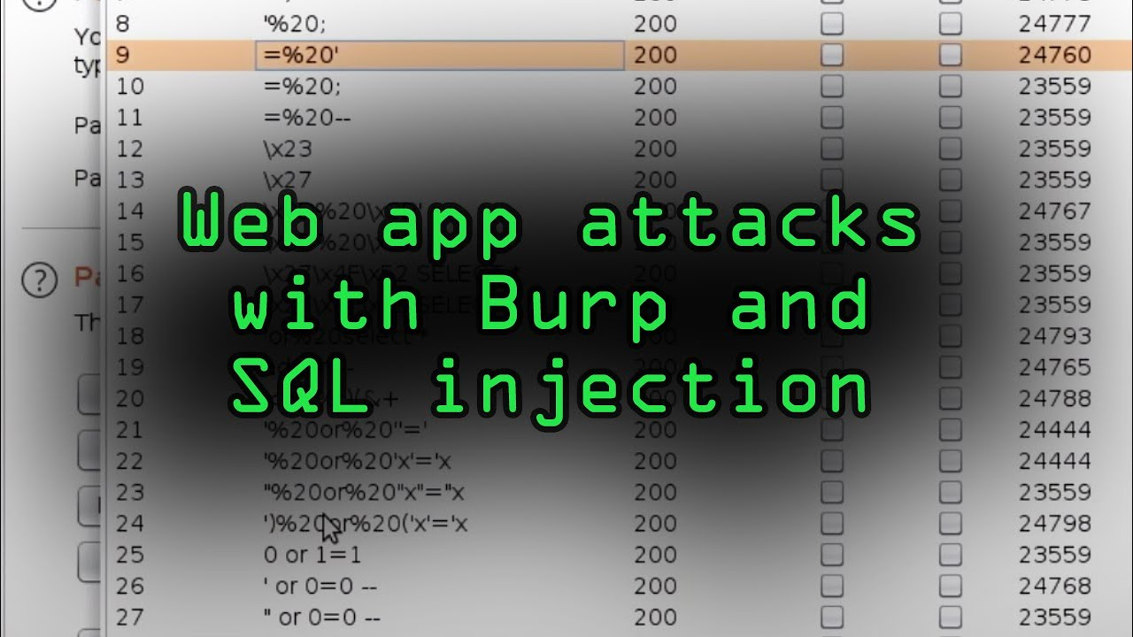 How a Hacker Could Attack Web Apps with Burp Suite & SQL Injection