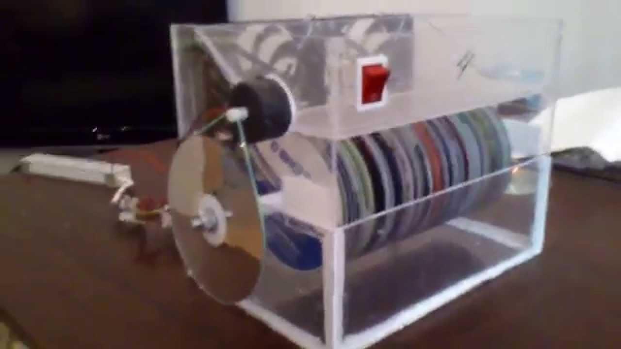 Мойка воздуха из компакт дисков своими руками