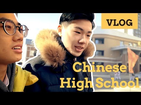 VLOG| A normal day in Chinese school as a Korean [ArtistFelix]