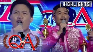 Kent Zapata tries his best to steal the crown from Macoi Aragon | It's Showtime Mr Q and A
