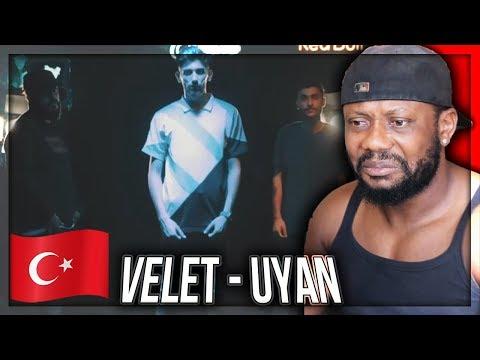 Velet - Uyan Feat. Canbay & Wolker  - TURKISH RAP MUSIC REACTION!!!