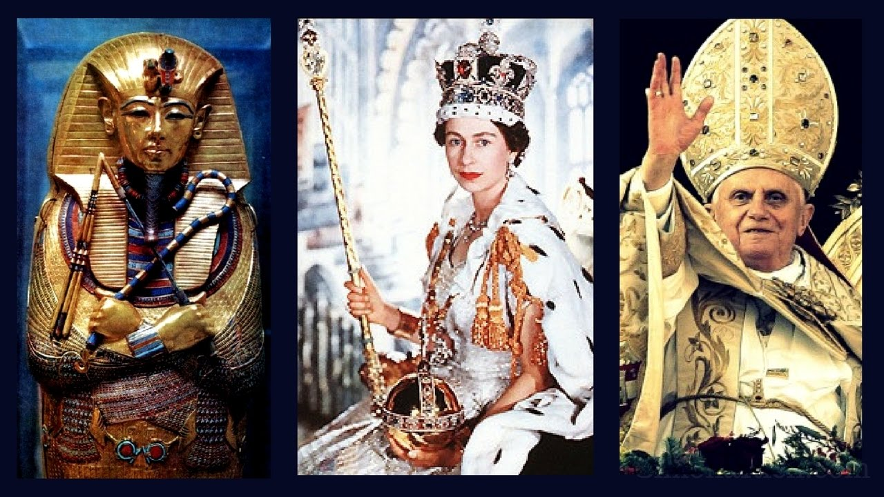 Egyptian Roots of British Royalty and Roman Catholic Church