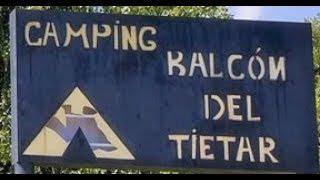 Camping el Balcon del Tietar, Avila,Spain