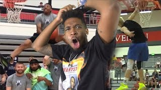WAIT SO WHO WON!?! INSANE DUNK CONTEST FT. JORDAN KILGANON, JCLARK AND MORE