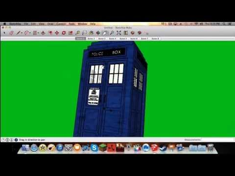 How to make a flying Doctor Who TARDIS effect on mac (IMovie/Final Cut Pro  X) by JiggleWop