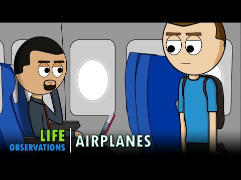 Life Observations: Airplanes