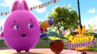Cartoons for Children | SUNNY BUNNIES - CRACK THE NUT | Funny Cartoons For Children