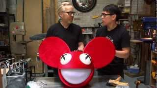 Inside Adam Savage's Cave: Deadmau5 Helmet