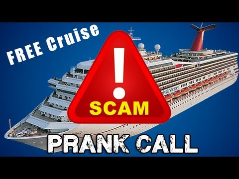 Free Cruise Scam Prank Call