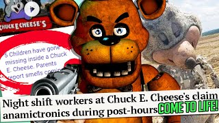 FNAF is REAL! Chuck E. Cheese NIGHT GUARD INTERVIEW PROVES IT!