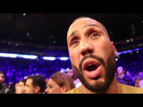 'I TOLD YOU! I TOLD YOU!' - JAMES DeGALE REACTS TO TONY BELLEW'S BRILLIANT TKO WIN OVER DAVID HAYE