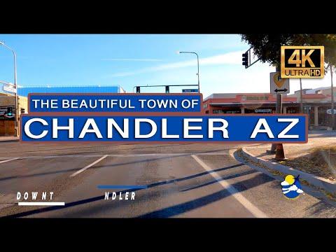 Chandler AZ | Driving through historic downtown Chandler AZ