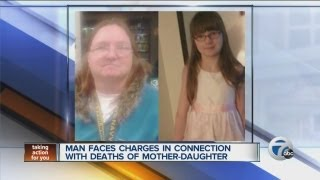 Man faces charges in connection with deaths of mother-daughter