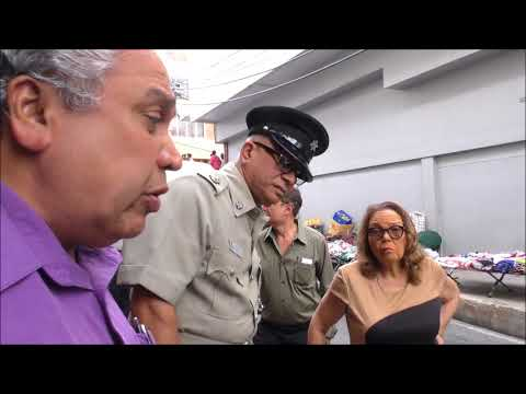 His Worship The Mayor of San Fernando, Municipal Police & TTPS Visit Business Houses on High  Street