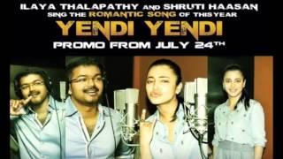 puli yaendi yaendi hd 1024 video song latest 2015 vijay and shruti hassan new movie