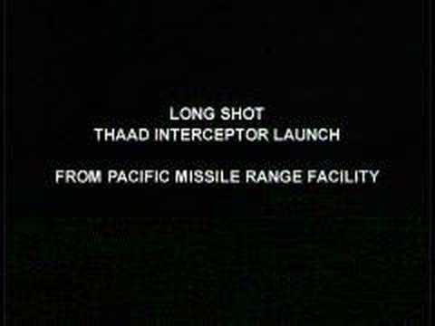Terminal High Altitude Area Defense (THAAD) Test
