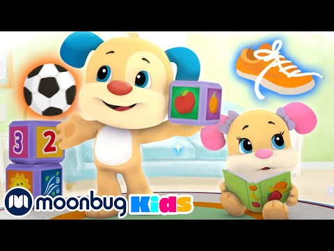 Laugh & Learn With Fisher Price - Learn First Words | ABC's & 123's | Educational Cartoons For Kids