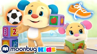 Laugh & Learn with Fisher Price - Learn First Words   ABC's & 123's   Educational Cartoons for Kids