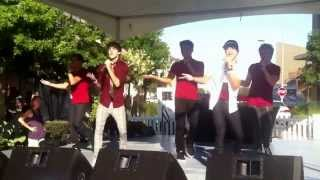 IM5 - It's Gonna Be Me (NSYNC COVER) | Austin Texas Mall Tour