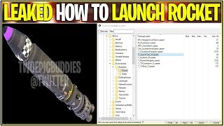 *NEW* Fortnite: LEAKED HOW TO LAUNCH THE ROCKET TUESDAY!   (Official Date and WE Launch It!) thumbnail