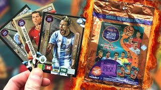 PANINI ADRENALYN XL ROAD TO RUSSIA 2018 MEGA STARTER PACK OPENING