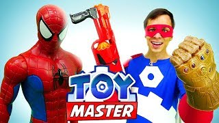 Шоу Той Мастер - Человек Паук и Мстители vs Танос!