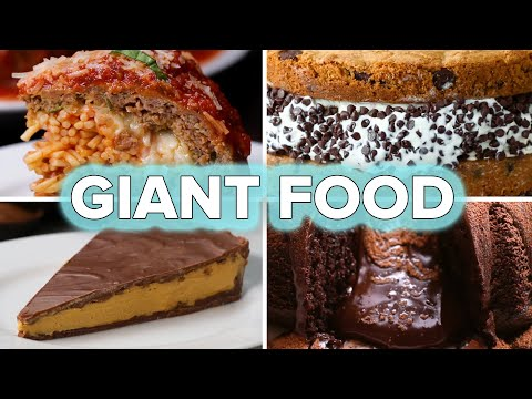6 Giant Food Recipes • Tasty